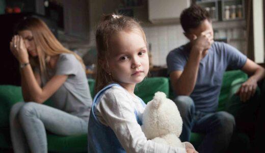 忘れちゃいけない!離婚は子どもにとっては不幸なこと